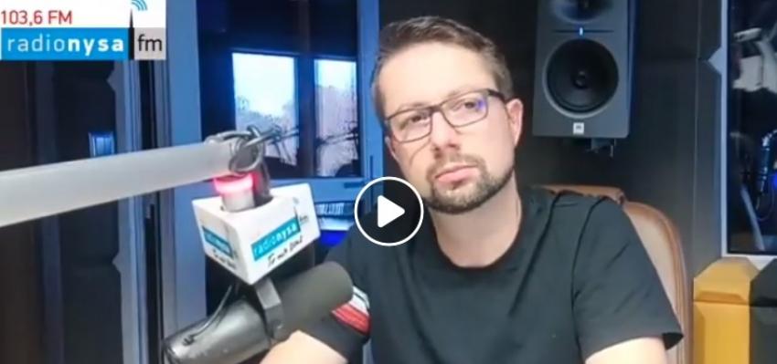 05.11.2019 - Gość Dnia Radia Nysa Łukasz Bogdanowski