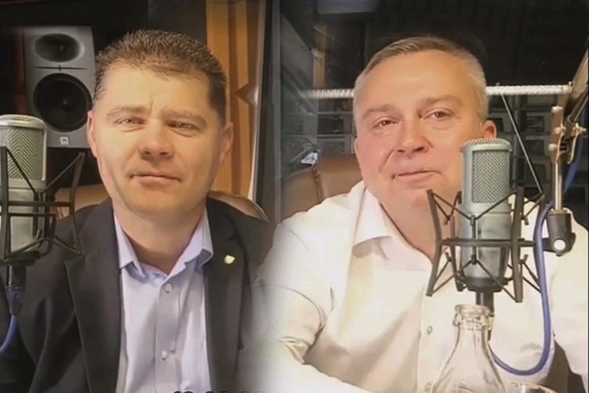 12.09.2020 - Gośćmi Śniadania w Radiu Nysa byli Radosław Roszkowski i Piotr Woźniak