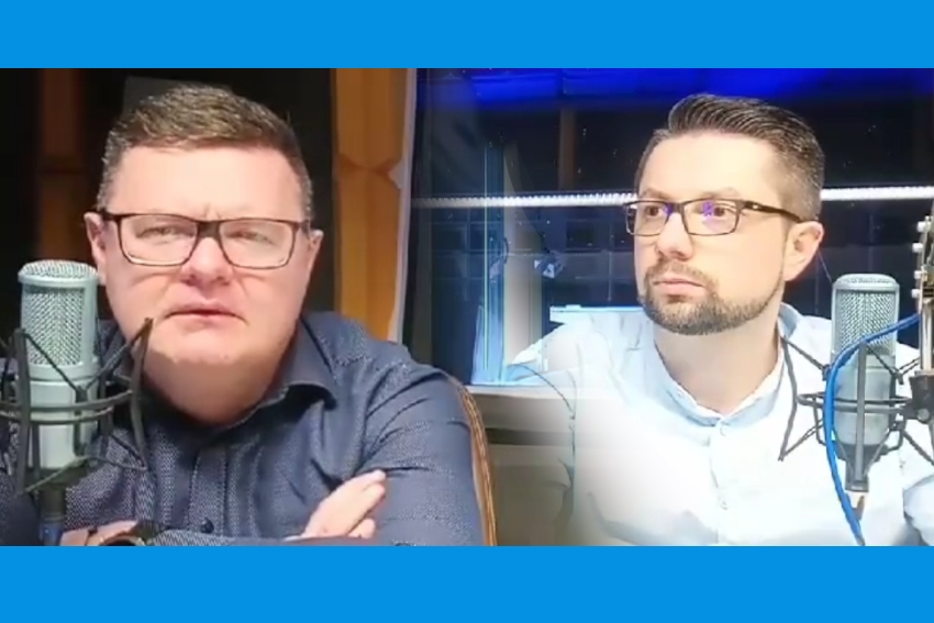 17.04.2021 - Gośćmi Śniadania Radia Nysa byli dzisiaj Bogdan Wyczałkowski i Łukasz Bogdanowski