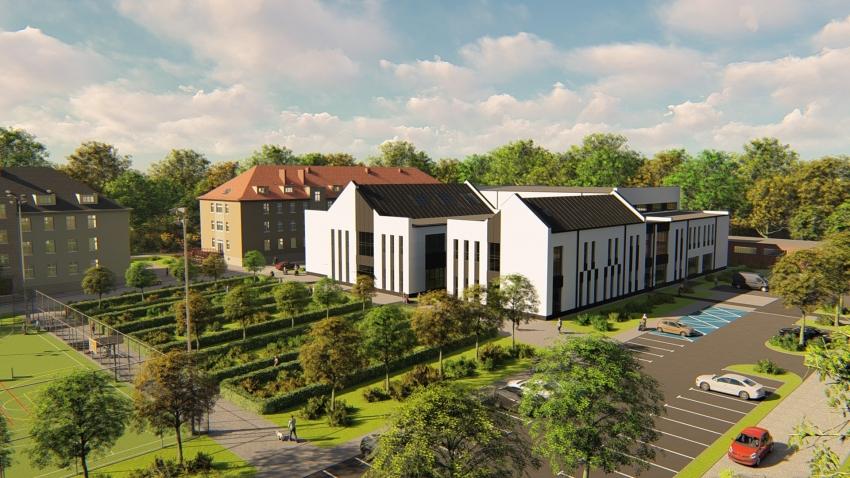 Budowa Centrum Rehabilitacji i Integracji dobiega końca