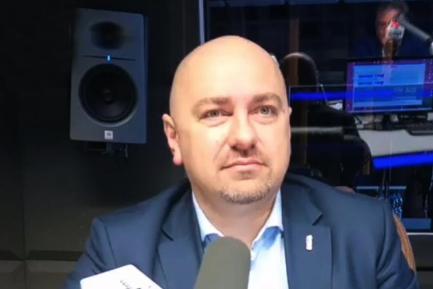 23.10.2020 - Gościem Dnia Radia Nysa był Grzegorz Zawiślak