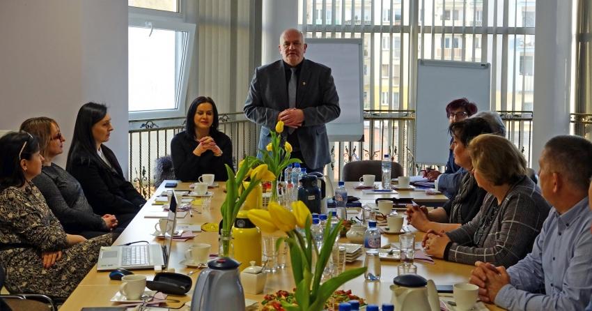 Przedstawiciele Ośrodków Pomocy Rodzinie z całej Polski spotkali się w Nysie