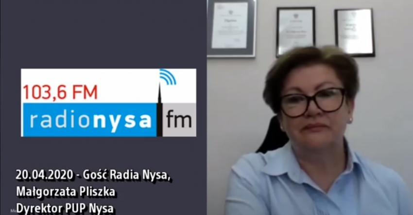 20.04.2020 - Gość Radia Nysa Małgorzata Pliszka
