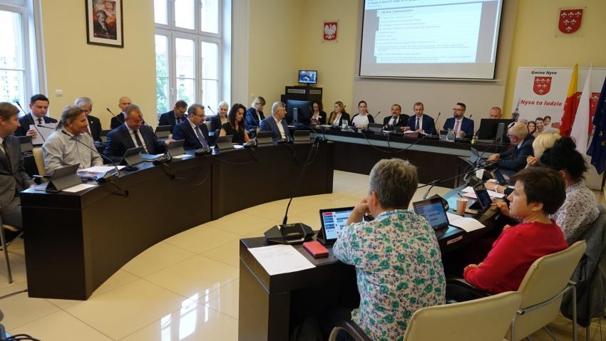 Dzisiaj kolejna sesja rady gminy Nysa