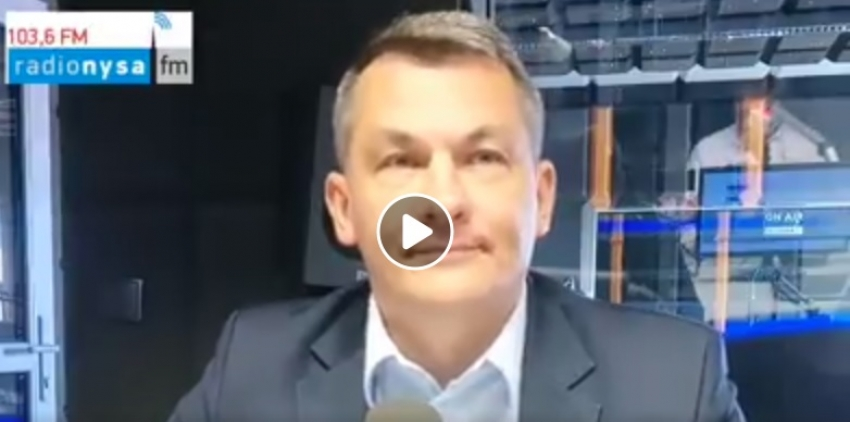04.05.2020 - Gościem Dnia Radia Nysa był Tomasz Kostuś