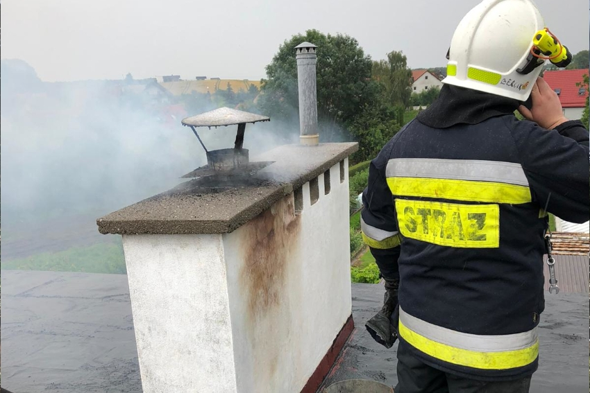 Plaga pożarów kominów w powiecie nyskim!