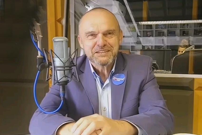 04.02.21 - Gościem Dnia Radia Nysa był Rajmund Miller