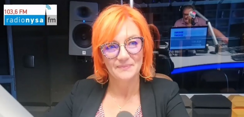 25.06.2020 - Gościem Radia Nysa była Teresa Czarnołęska