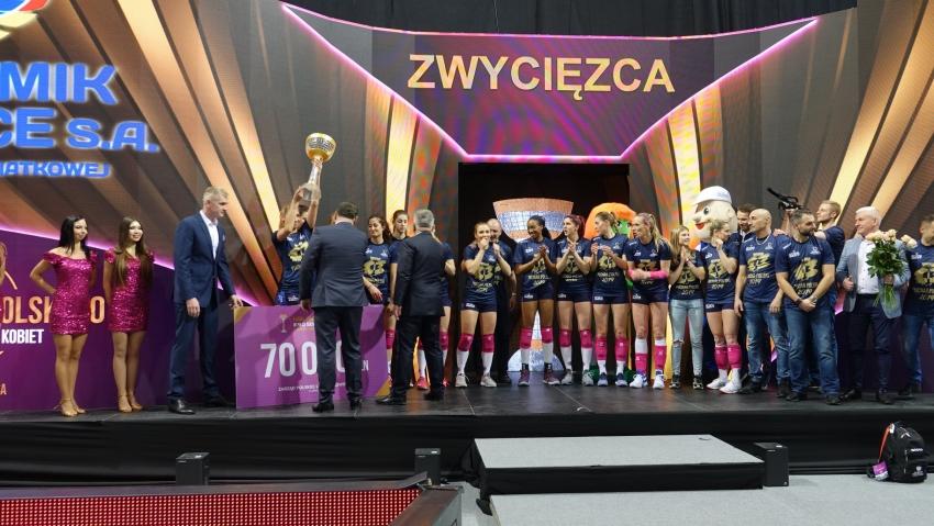 Puchar Polski siatkówki kobiet dla Chemika Police!