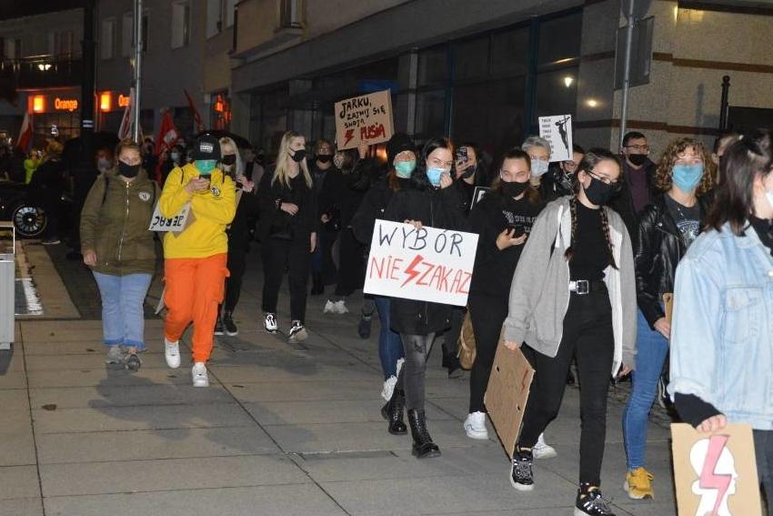 Nyski protest w sprawie aborcji