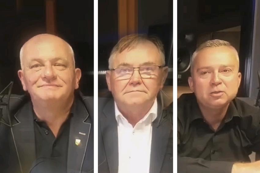 29.08.2020 - Gośćmi Śniadania w Radiu Nysa byli: Andrzej Kruczkiewicz, Antoni Konopka oraz Piotr Woźniak