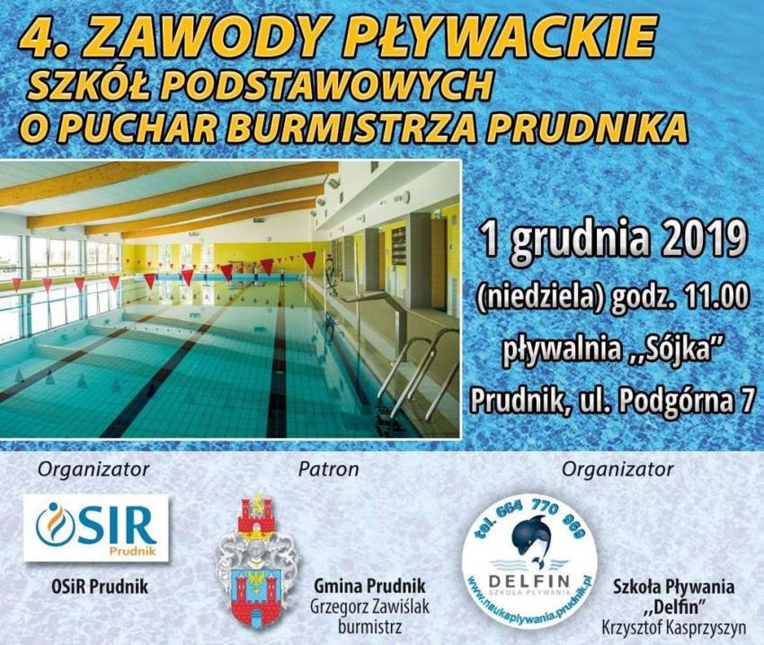 Przed nami zawody pływackie o Puchar Burmistrza