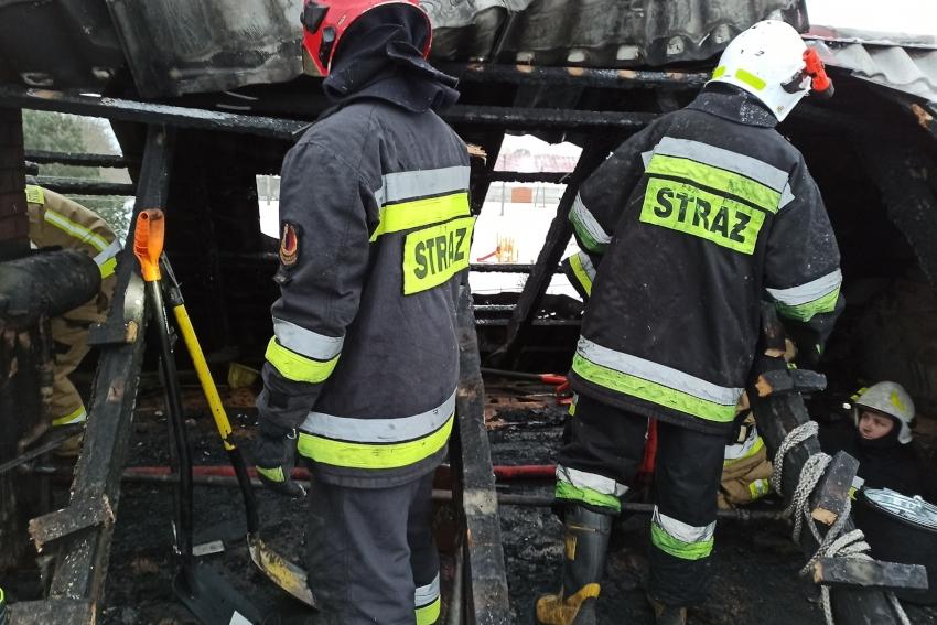Pożar w Okopach - POMOC pogorzelcom!