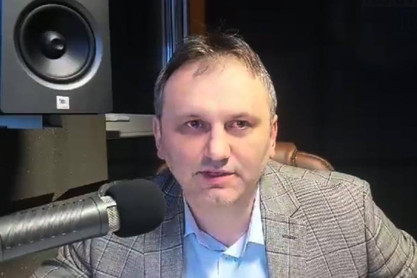 09.02.2021 - Gościem Dnia Radia Nysa był Arkadiusz Kuglarz
