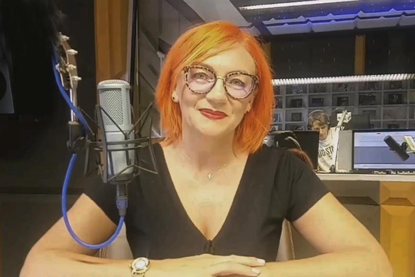 31.08.2020 - Gościem Dnia Radia Nysa była Teresa Czarnołęska