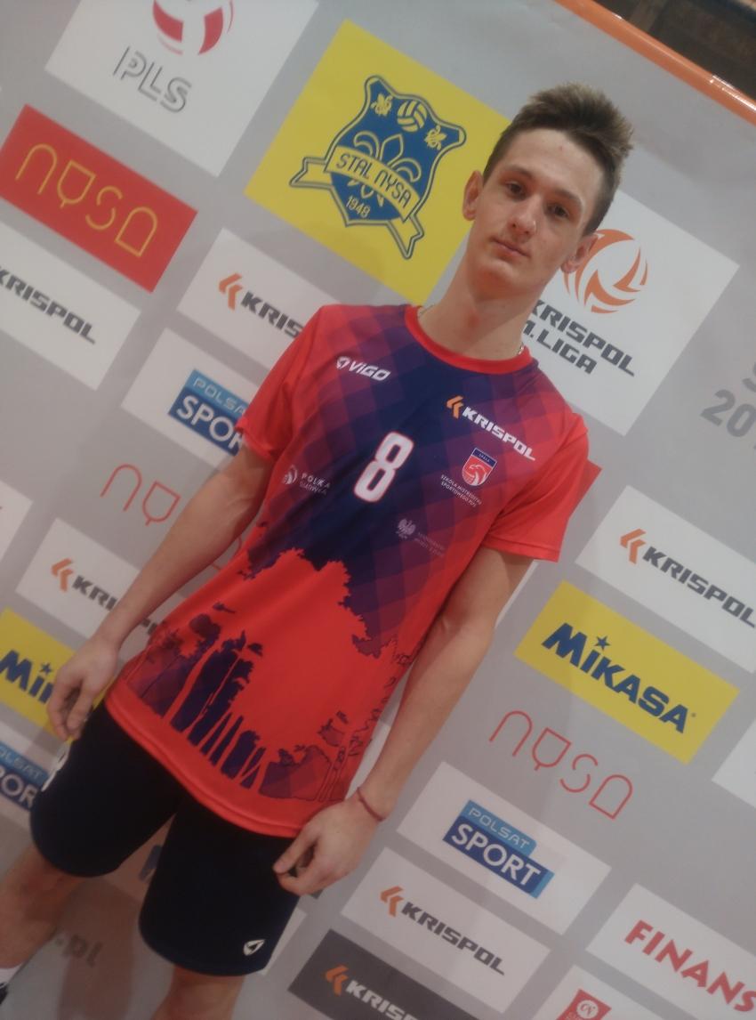 Były wychowanek AZS PWSZ Nysa gra w drużynie Szkoły Mistrzostwa Sportowego ze Spały