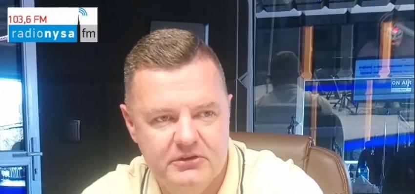 09.06.2020 - Gościem Dnia Radia Nysa był Bogdan Wyczałkowski