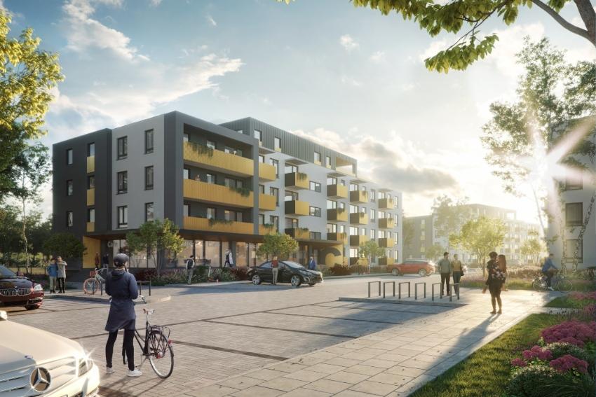 Niedługa rusza budowa 400 mieszkań!