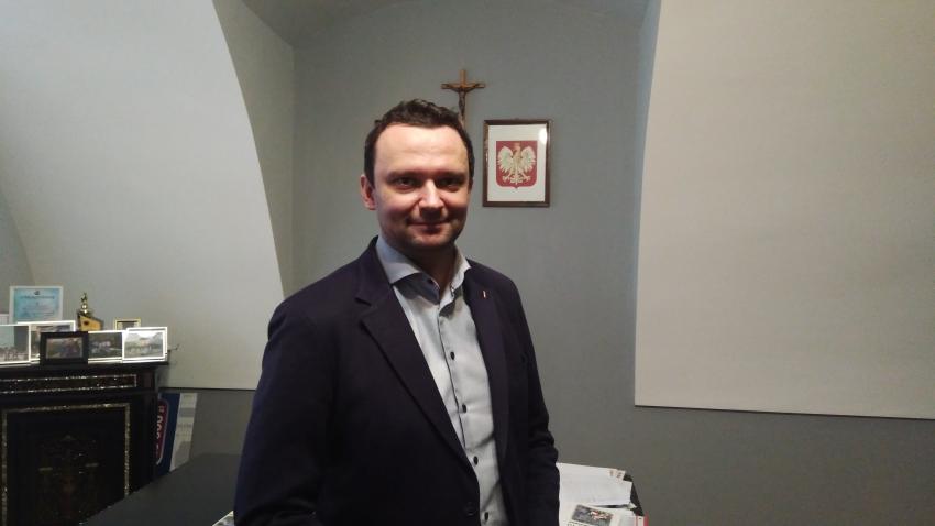 20.12.2019 Gość Dnia Radia Nysa Artur Rolka, Burmistrz Paczkowa.