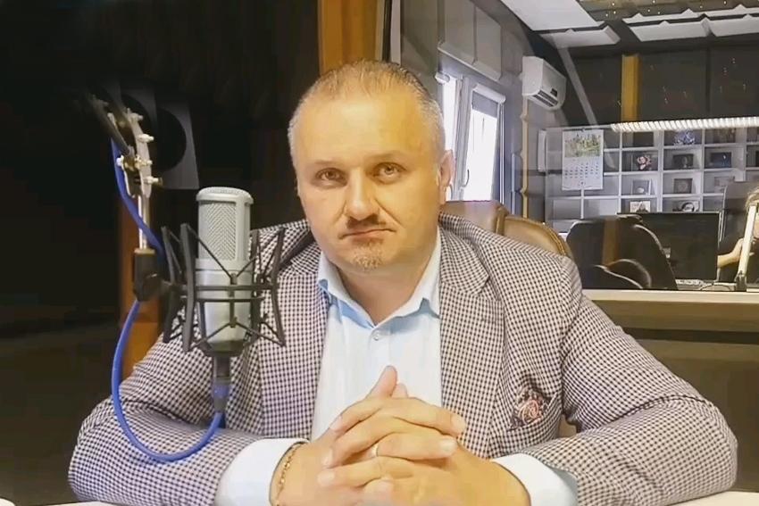 08.02.2021 - Gościem Dnia Radia Nysa był Daniel Palimąka