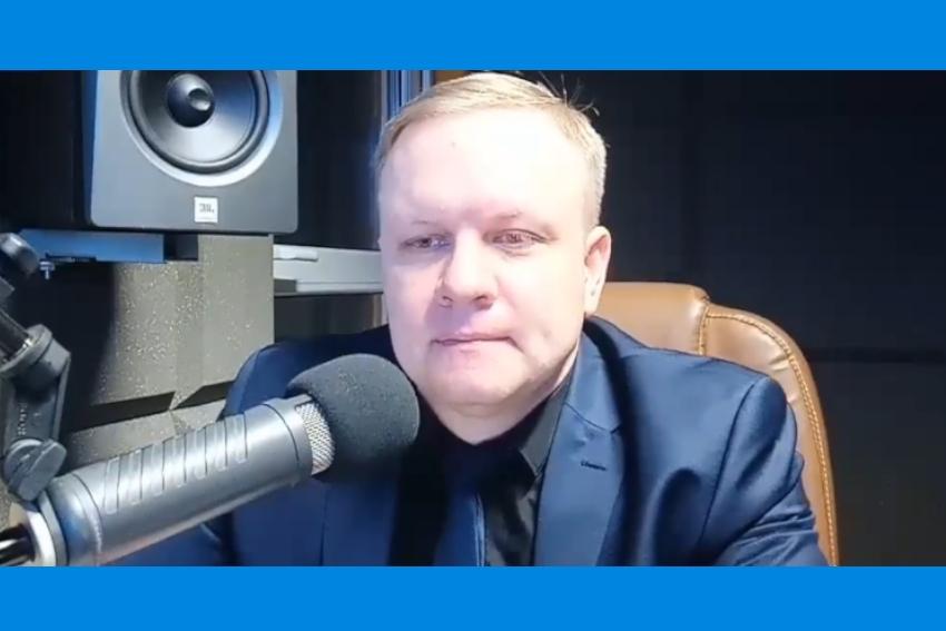 15.01.2021 - Gościem Dnia Radia Nysa był Krzysztof Kiełbicki