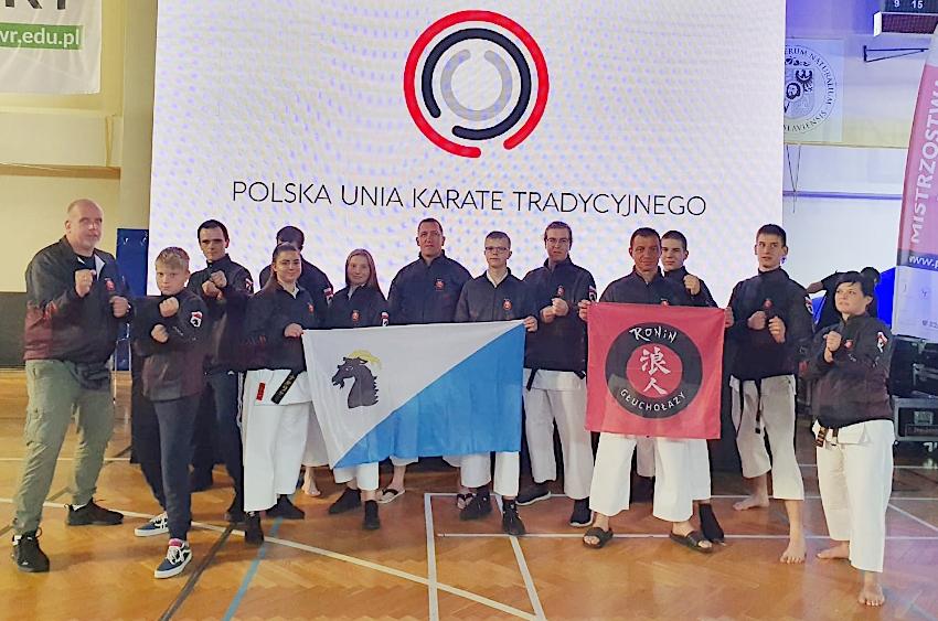 Bardzo dobry występ głuchołaskich karateków na Mistrzostwach Polski