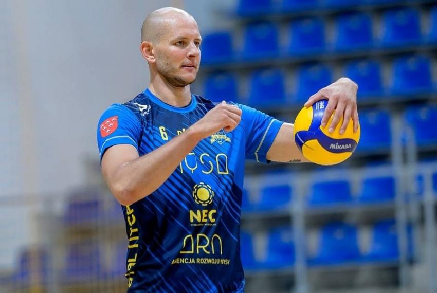 Bartosz Kurek znowu trenuje w Nysie