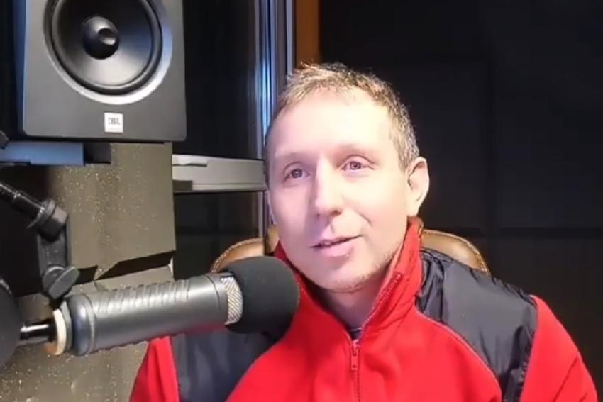 11.02.2021 - Gościem Dnia Radia Nysa był dzisiaj Tomasz Śmietank