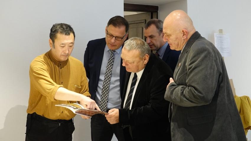 Do Nysy przyjechała grupa japońskich artystów