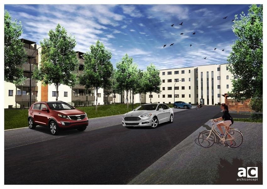 Prace przy budowie osiedla Mieszkanie Plus idą zgodnie z harmonogramem
