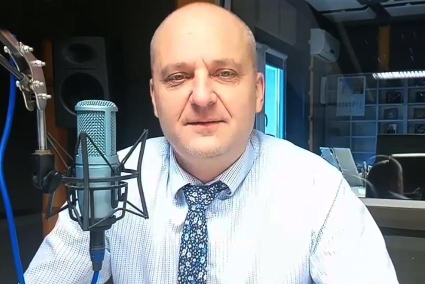 04.12.2020 - Gościem Dnia Radia Nysa był Piotr Bobak