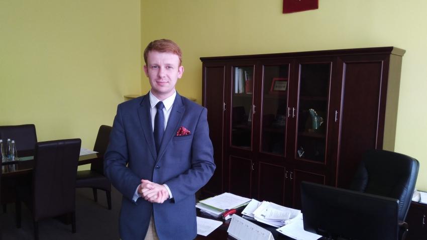 10.01.2020 - Gościem Dnia Radia Nysa był dzisiaj Jarosław Szóstka