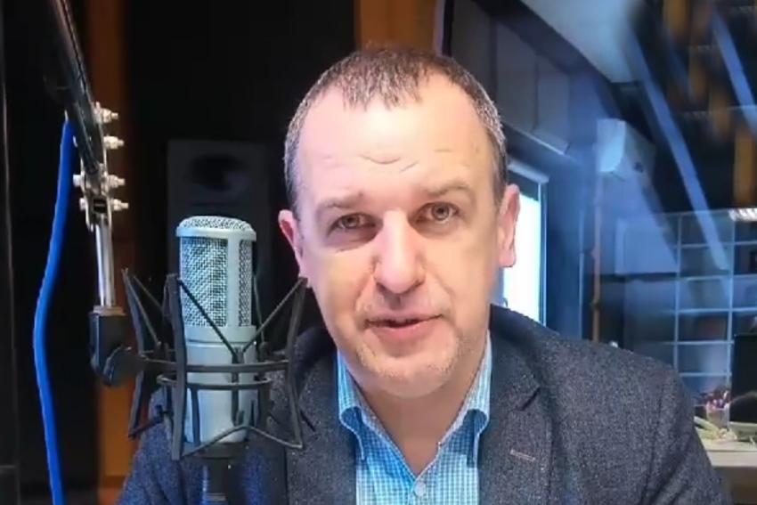 01.04.2021 - Gościem Dnia Radia Nysa był Paweł Nakonieczny