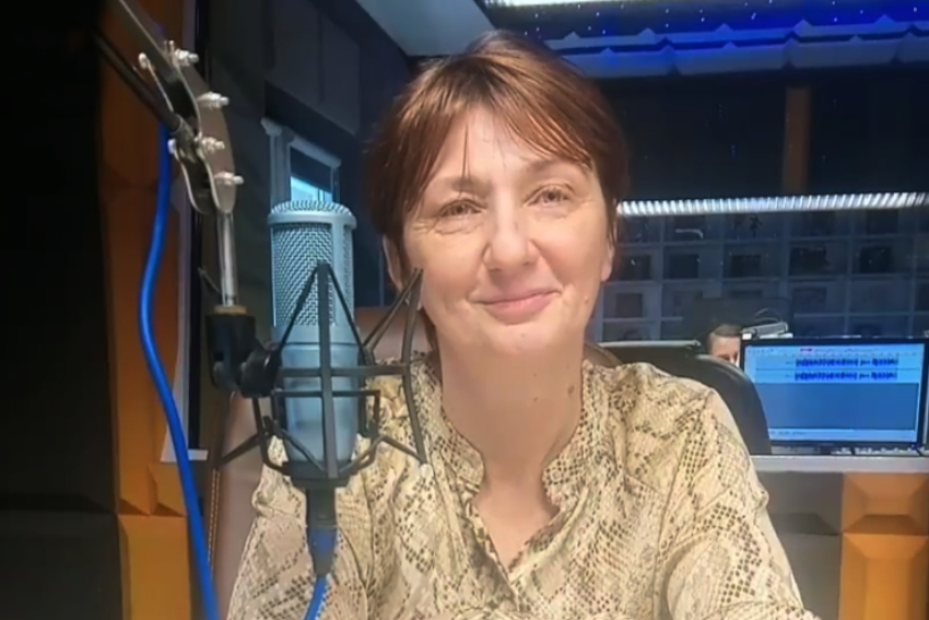 27.11.2020 - Gościem Radia Nysa była Aneta Mulska