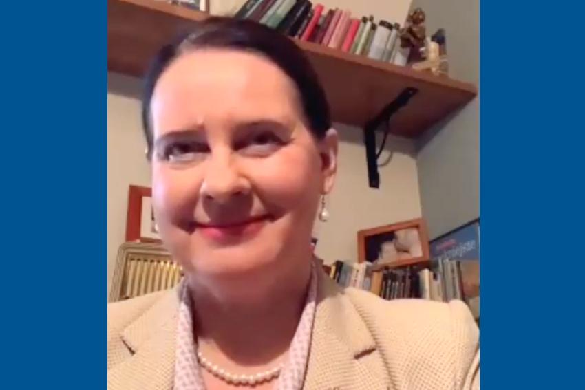 16.12.2020 - Gościem Dnia Radia Nysa była Violetta Porowska
