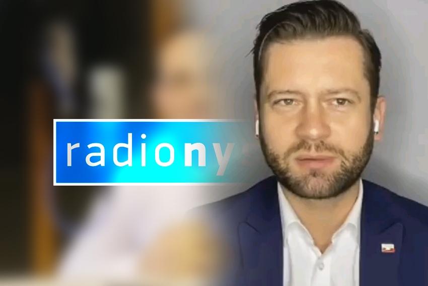 01.10.2020 - Gościem Dnia Radia Nysa był Kamil Bortniczuk