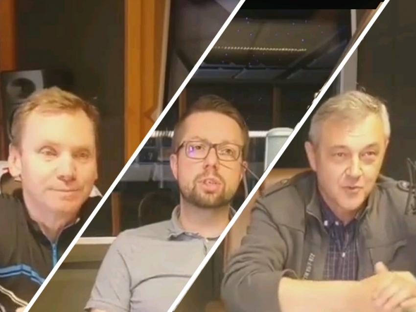 06.06.2020 - Gośćmi Śniadania w Radiu Nysa byli Anatol Bukała, Łukasz Bogdanowski i Robert Giblak