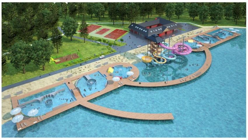 Kończą się prace przy modernizacji kąpieliska miejskiego