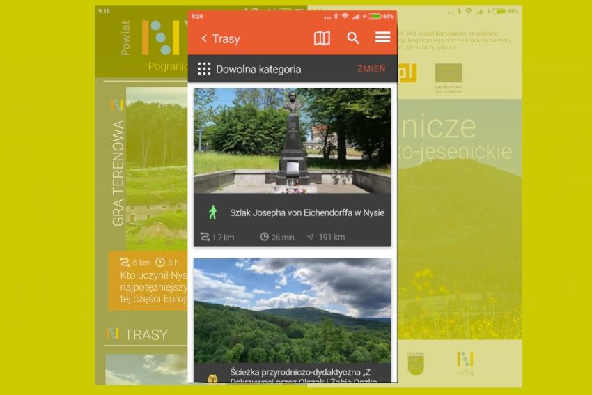 Powiatowa aplikacja turystyczna