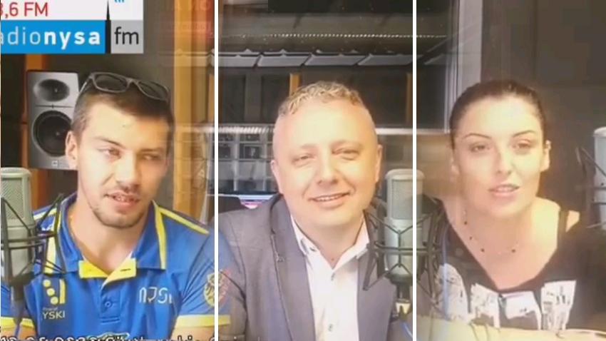 13.06.2020 - Gośćmi Śniadania w Radiu Nysa byli Patryk Szczurek, Marek Majka oraz Anna Żurkowska