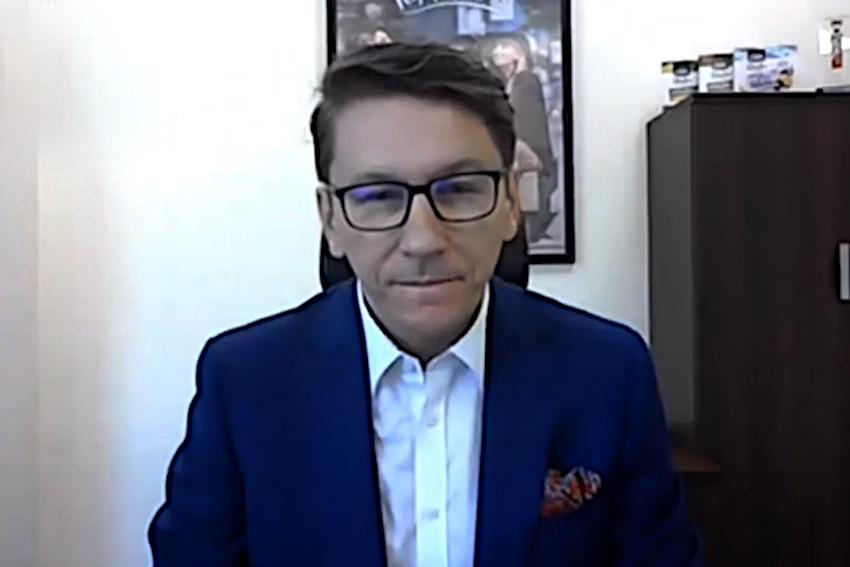 18.12.2020 - Gościem Dnia Radia Nysa był Marek Piątkowski