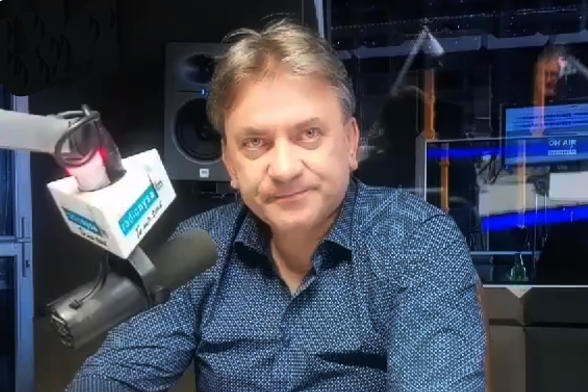 06.11.2020 - Gościem Dnia Radia Nysa był Robert Leszczyński