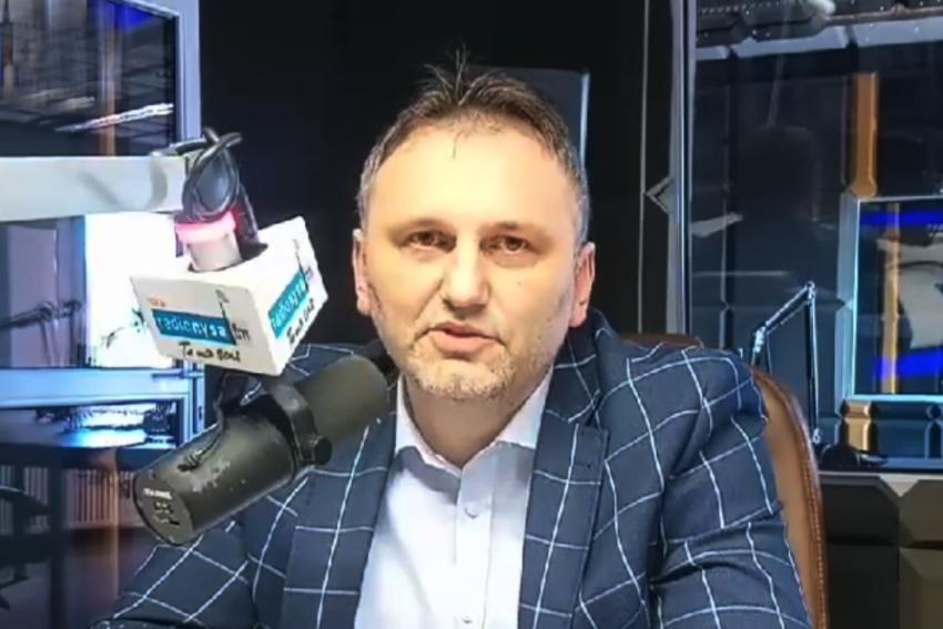 06.05.2021 - Gościem Dnia Radia Nysa był Arkadiusz Kuglarz
