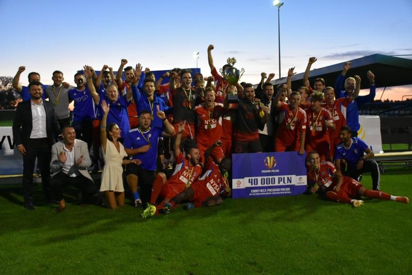 Regionalny Puchar Polski dla Polonii Nysa!