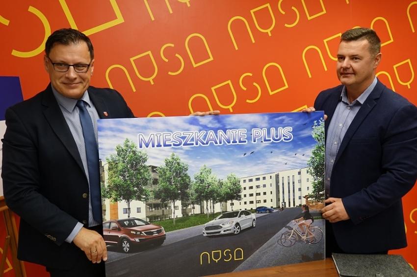 W Nysie powstaje osiedle 'Mieszkanie Plus'
