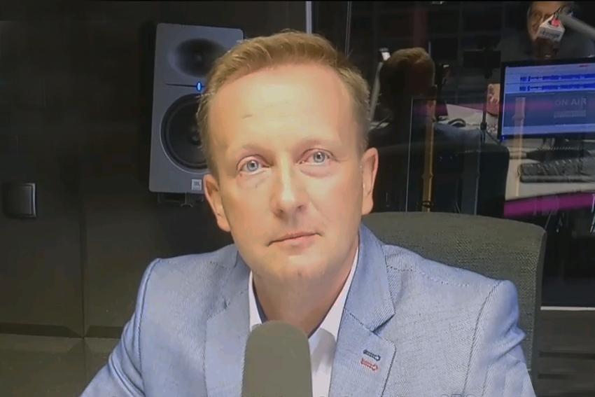 30.09.2020 - Gościem Dnia Radia Nysa był Damian Nowakowski