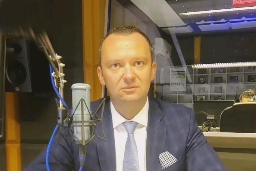 30.09.2021 - Gościem Dnia Radia Nysa był Artur Rolka