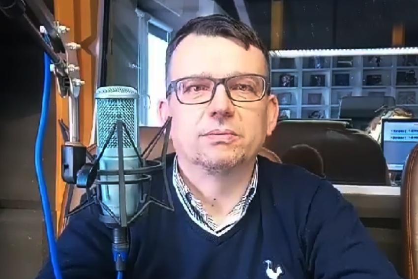 22.02.2021 - Gościem Dnia Radia Nysa był Piotr Tarapata