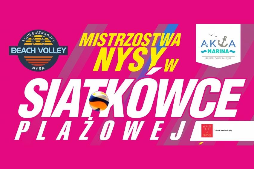 Wielki Finał Mistrzostw Nysy w siatkówce plażowej!