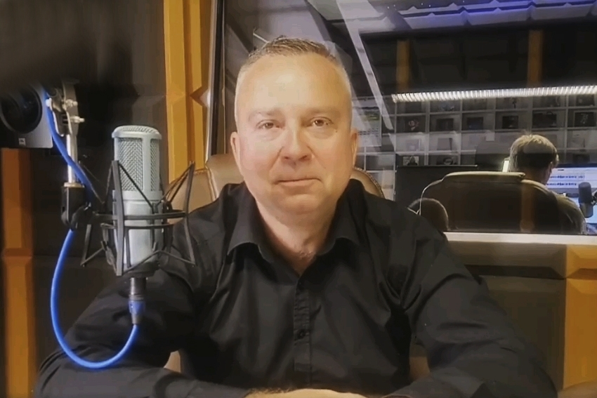 04.11.2020 - Gościem Dnia Radia Nysa był Piotr Woźniak